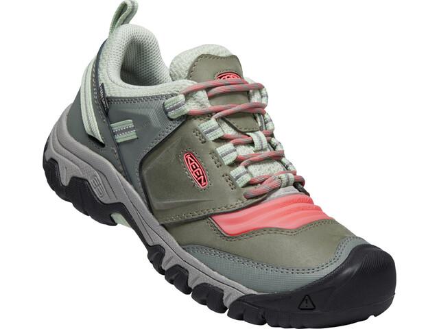 Keen Ridge Flex WP Shoes Women, castor grey/dubarry